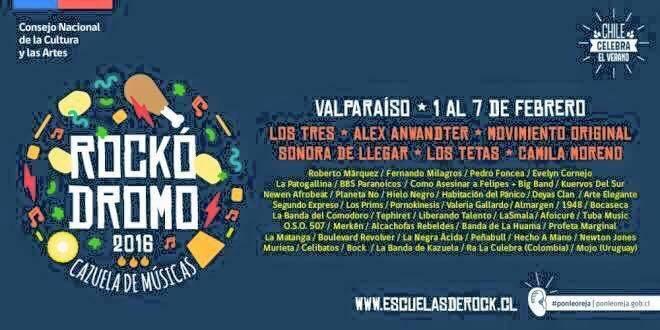 RA LA CULEBRA - Flyer Rockodromo 2016